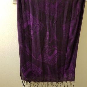Vintage ladies scarf